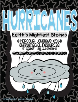 Hurricanes: Earth's Mightiest Storms (Journeys 4th Gr. - Supplemental Materials)