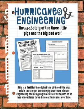 Hurricanes & Engineering: The Real Three Little Pigs Tale