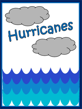 Weather: Hurricanes: Grades 3-5