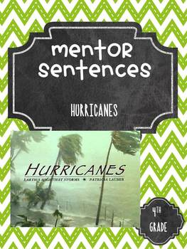 Hurricanes Guidebook Mentor Sentences