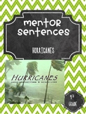 Hurricanes Guidebook Mentor Sentences