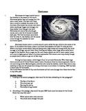Hurricanes - Informational Text Test Prep