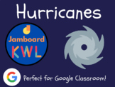 Hurricanes - KWL Charts for Jamboard (Distance Learning, W