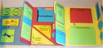Hurricanes Lapbook & Study Guide