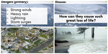 Hurricanes PowerPoint Introduction and Quiz
