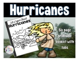 Hurricanes: Printable Tab Booklet for Weather Science -2017 updated-