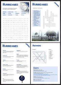 Hurricanes - Puzzles & Glossary