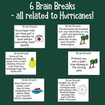Hurricanes Reading Comprehension for Active Learners