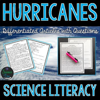 Hurricanes - Science Literacy Article