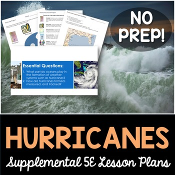 Hurricanes - Supplemental Lesson - No Lab