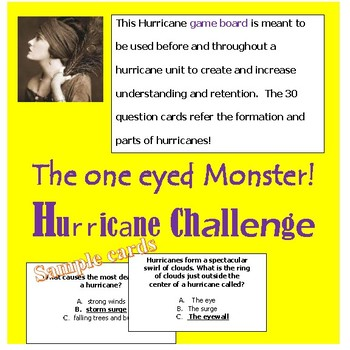"""Hurricanes """"The one eyed Monster"""""""