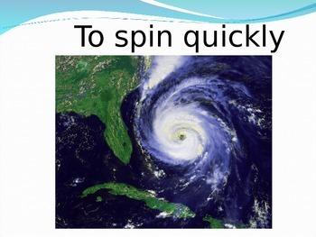 Hurricanes Vocabulary Power Point
