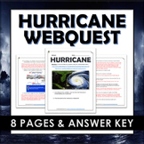 Hurricanes - Webquest and Answer Key