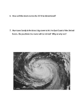 Hurricanes: What's in a Name for Hurricanes?