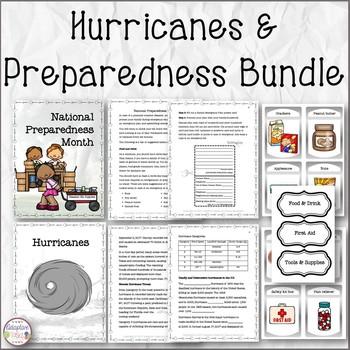 Hurricanes and Preparedness Bundle