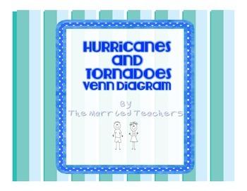 Hurricanes and Tornadoes Interactive Venn Diagram