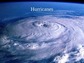 Hurricanes and other major storms Cloze