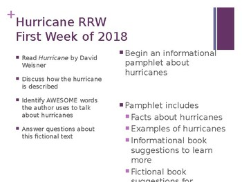 Hurricanes by David Weisner Pamphlet Project