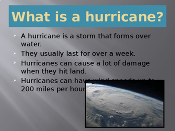 Hurricanes-power point