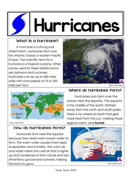 Hurricanes Article with Augmented Reality (Technology)