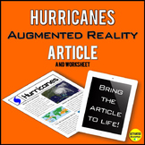 Hurricanes Article with Augmented Reality AR