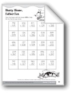 Hurry Home, Father Fox (Addition/Subtraction 100-1,000 with Regrouping)