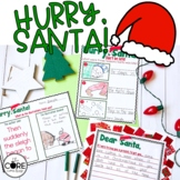 Hurry Santa Interactive Read-Aloud Lesson Plans and Activities