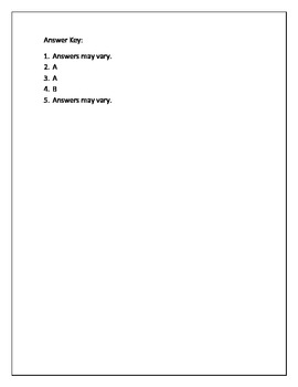 """""""Hurry Up, Hippo"""" Guided Reading Quiz"""