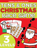 Christmas Race Game | Kindergarten | Compose Numbers to 19 | Place Value