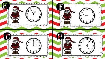 Hurry Up, Santa Telling Time
