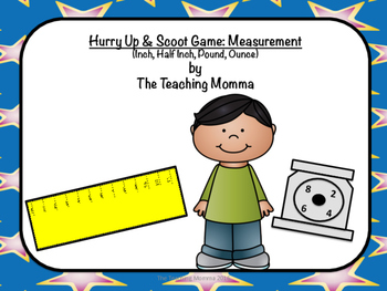 Hurry Up & Scoot Game: Measurement