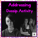 Hurtful Words Gossip Lesson