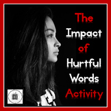 Hurtful Words Poster Crumple