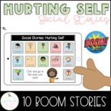 Hurting Self Social Stories Boom Cards