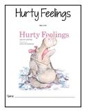 Hurty Feelings Reader Response Packet
