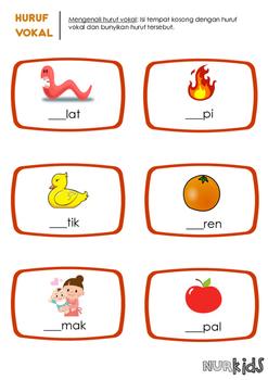 Huruf Vokal (Malay Vowels)