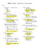 Hush, Hush Quizzes & Final Exam - Chapters 1-30 with Answer Key