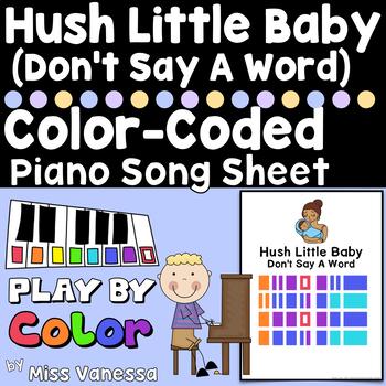 Hush Little Baby Song Sheet