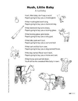 Hush, Little Baby (Poem)