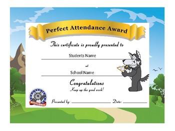 Husky Award Certificates -Standard