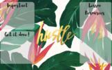 Hustle Organised Desktop Wallpaper
