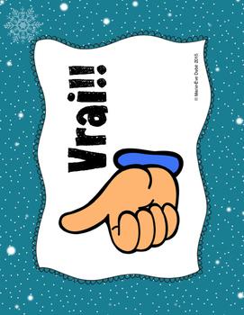 Hiver - Trouvez l'intrus!