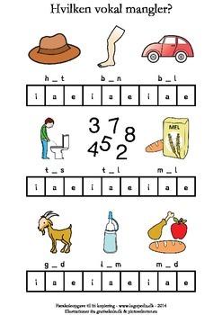 Hvilken vokal mangler? aei