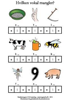 Hvilken vokal mangler? eio