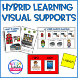 Hybrid Learning Visual Supports