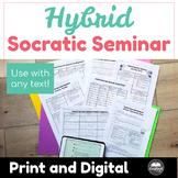 Flash Freebie, 1/18 Only: Hybrid Socratic Seminar
