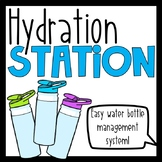 Hydration Station: Water Bottle Management