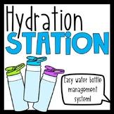 Hydration Station: Water Bottle Management