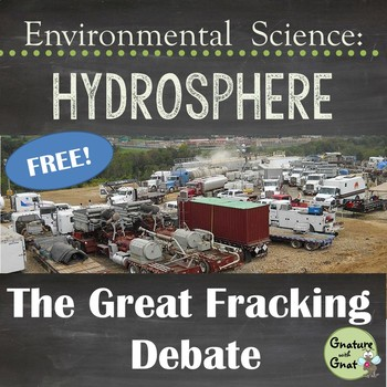 Hydraulic Fracturing (Fracking) Research & Discussion Foldable
