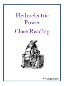 Hydro-Electric Power Close Reading